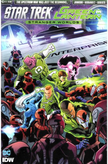 Star Trek Green Lantern Vol 2 #3 [IDW Comic] THUMBNAIL