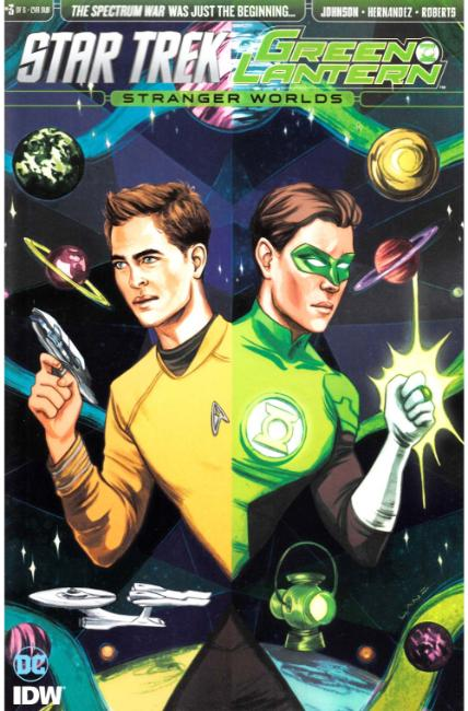 Star Trek Green Lantern Vol 2 #3 Subscription Cover [IDW Comic] LARGE