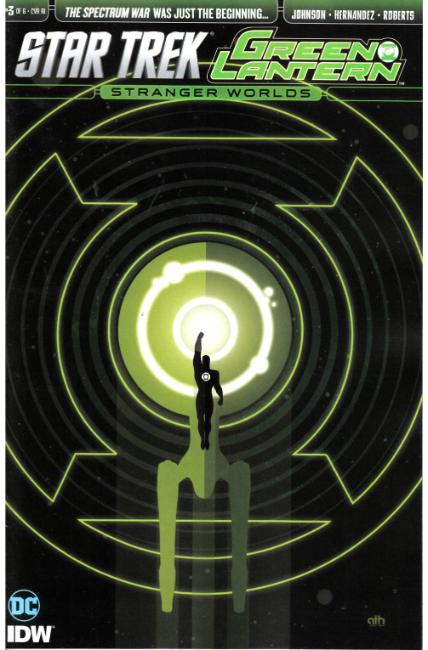 Star Trek Green Lantern Vol 2 #3 Cover RI [IDW Comic] THUMBNAIL