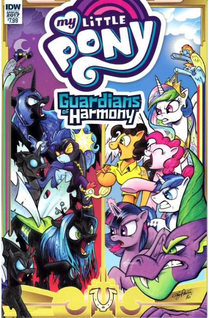 My Little Pony Annual 2017 #1 [IDW Comic] THUMBNAIL