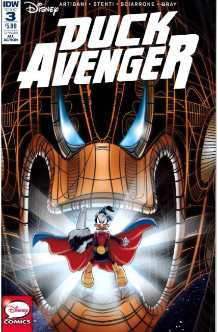 Duck Avenger #3 [IDW Comic]