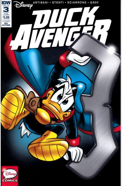 Duck Avenger #3 Subscription Cover [IDW Comic] THUMBNAIL