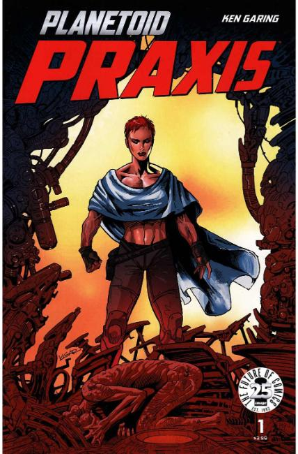 Planetoid Praxis #1 [Image Comic] LARGE