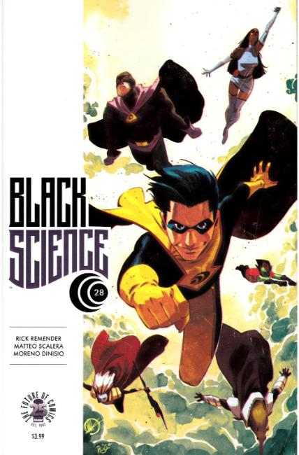 Black Science #28 [Image Comic] LARGE