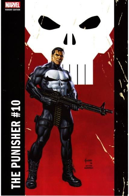 Punisher #10 Jusko Corner Box Variant [Marvel Comic] THUMBNAIL