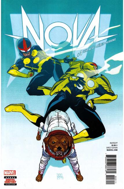 Nova #3 [Marvel Comic] LARGE