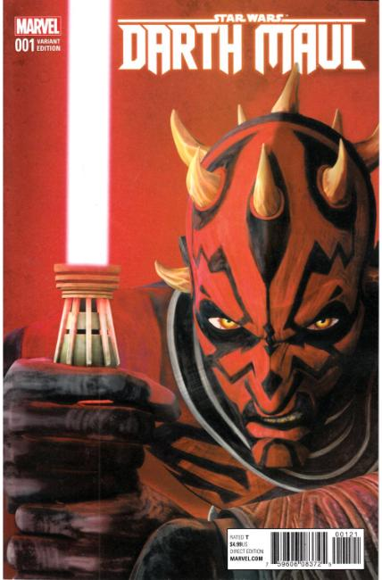 Star Wars Darth Maul #1 Animation Variant Cover [Marvel Comic] LARGE