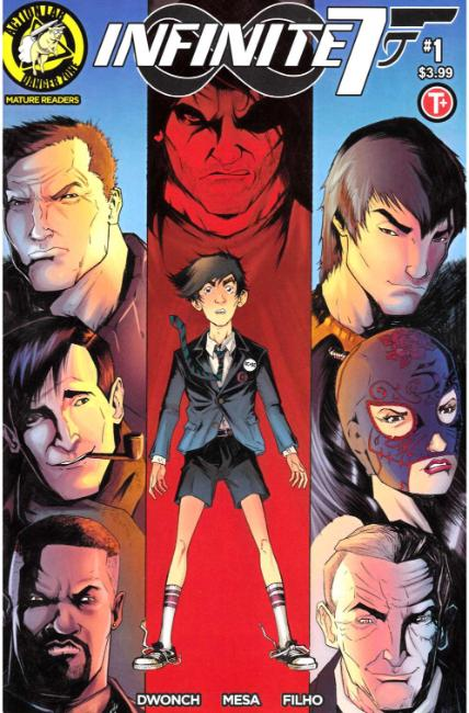 Infinite Seven #1 Cover A [Action Lab Comic] THUMBNAIL