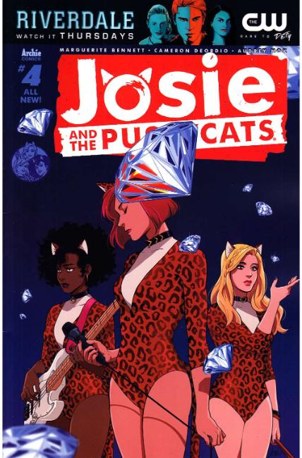 Josie & the Pussycats #4 Cover A [Archie Comic] THUMBNAIL