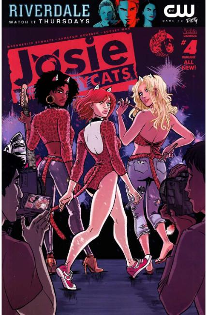 Josie & the Pussycats #4 Cover B [Archie Comic] THUMBNAIL