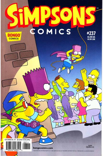 Simpsons Comics #237 [Bongo Comic] THUMBNAIL