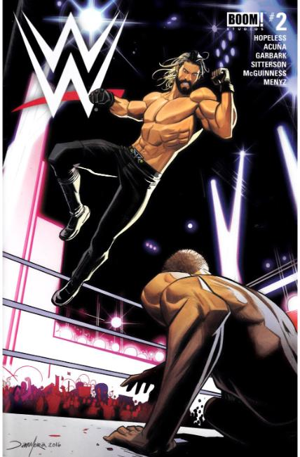 WWE #2 [Boom Comic] LARGE