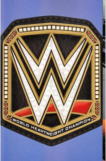 WWE #2 World Championship Belt Foil Party Variant Cover [Boom Comic] THUMBNAIL