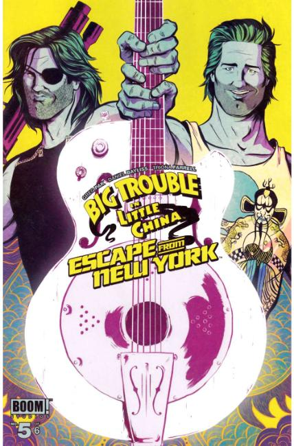 Big Trouble In Little China Escape New York #5 [Boom Comic]