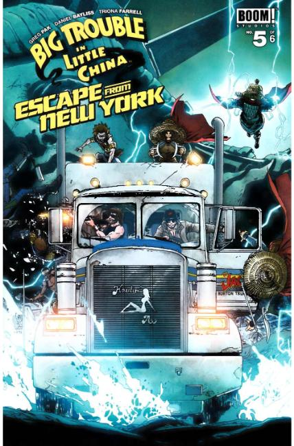 Big Trouble In Little China Escape New York #5 Subscription Cover [Boom Comic] THUMBNAIL
