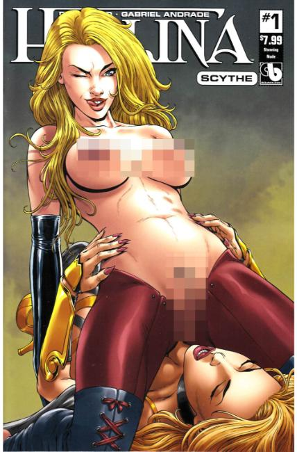 Hellina Scythe #1 Stunning Nude Cover [Boundless Comic] THUMBNAIL
