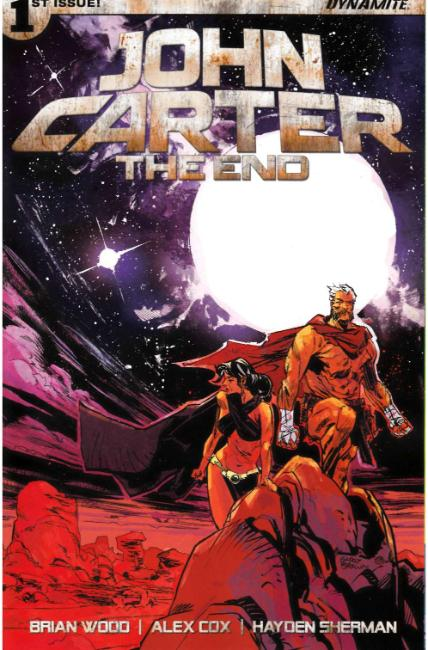 John Carter the End #1 Cover A [Dynamite Comic] THUMBNAIL