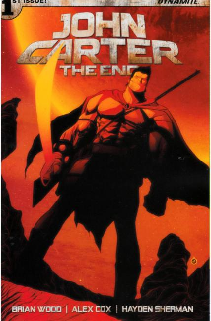 John Carter the End #1 Cover B [Dynamite Comic] THUMBNAIL