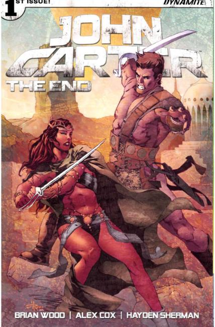 John Carter the End #1 Cover C [Dynamite Comic] THUMBNAIL