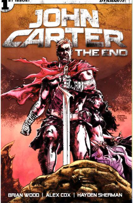 John Carter the End #1 Cover D [Dynamite Comic] THUMBNAIL