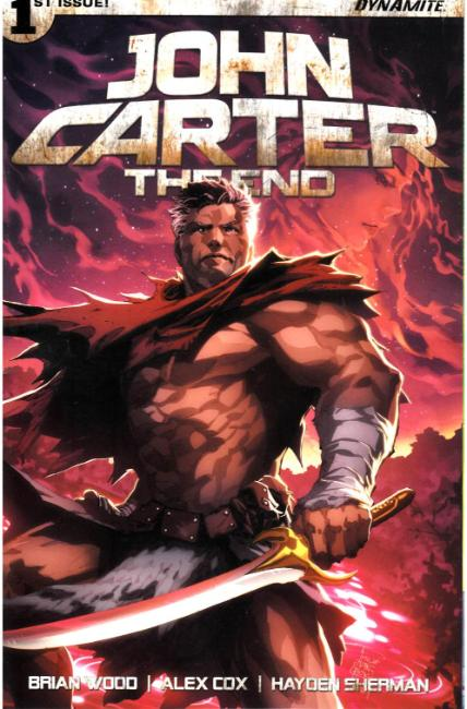 John Carter the End #1 Cover E [Dynamite Comic] THUMBNAIL