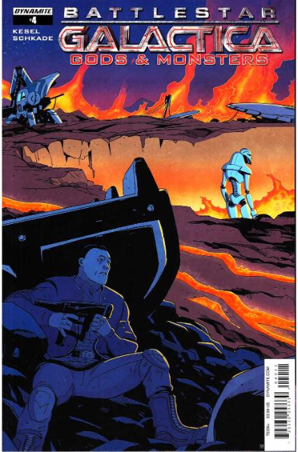 Battlestar Galactica Gods & Monsters #4 Cover A [Dynamite Comic] THUMBNAIL