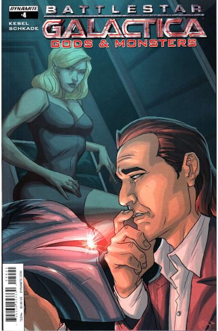 Battlestar Galactica Gods & Monsters #4 Cover B [Dynamite Comic] THUMBNAIL