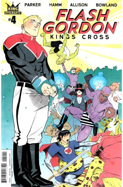 Flash Gordon Kings Cross #4 Cover B [Dynamite Comic]_THUMBNAIL