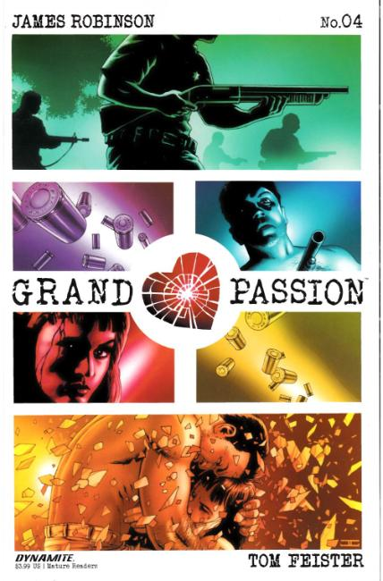 Grand Passion #4 Cover A [Dynamite Comic] THUMBNAIL