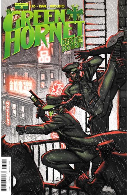 Green Hornet Reign of the Demon #3 Cover A [Dynamite Comic] THUMBNAIL