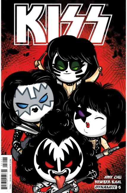 KISS #5 Cover B [Dynamite Comic] THUMBNAIL