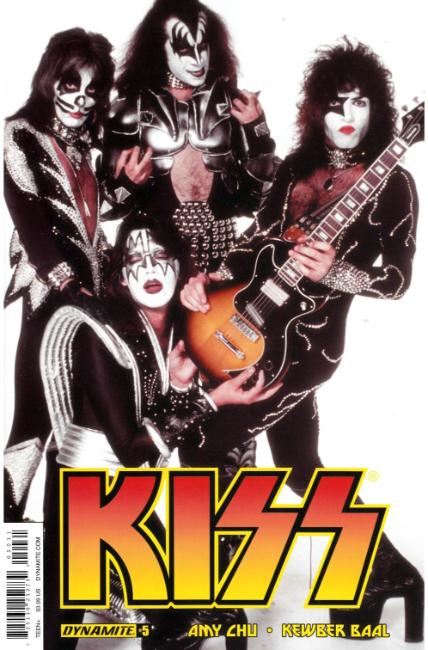 KISS #5 Cover C [Dynamite Comic] THUMBNAIL