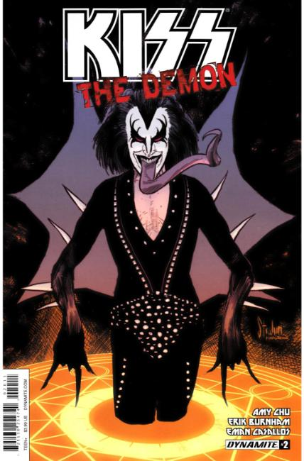 KISS Demon #2 Cover A [Dynamite Comic] THUMBNAIL