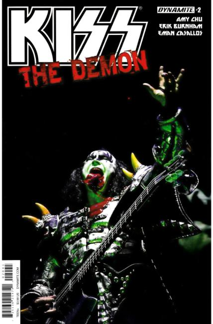 KISS Demon #2 Cover D [Dynamite Comic] LARGE