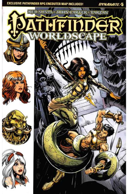Pathfinder Worldscape #5 Cover B [Dynamite Comic]_THUMBNAIL