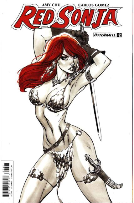 Red Sonja #2 Cover B [Dynamite Comic] THUMBNAIL