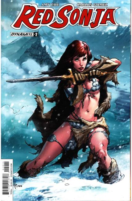 Red Sonja #2 Cover D [Dynamite Comic] THUMBNAIL