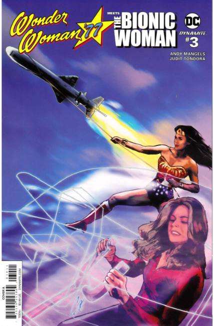 Wonder Woman 77 Bionic Woman #3 Cover A [Dynamite Comic] THUMBNAIL