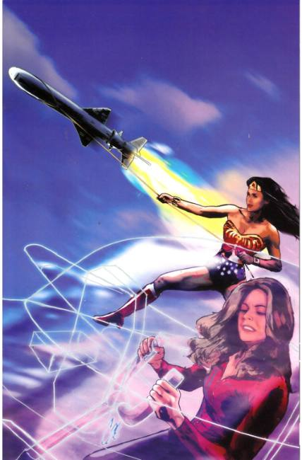 Wonder Woman 77 Bionic Woman #3 Cover C- Virgin Art Incentive [Dynamite Comic] THUMBNAIL