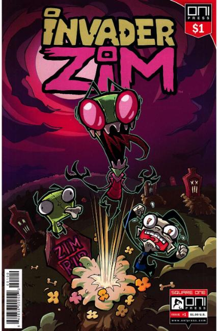 Invader Zim #1 Dollar Edition [Oni Press Comic] THUMBNAIL