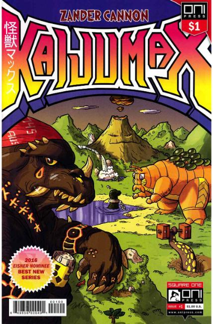 Kaijumax #1 Dollar Edition [Oni Press Comic]