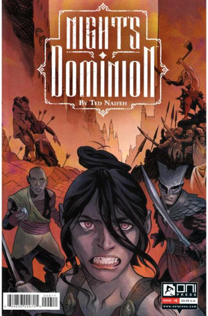 Nights Dominion #6 [Oni Press Comic]