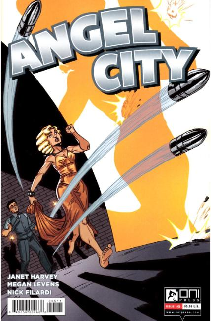 Angel City #5 [Oni Press Comic]