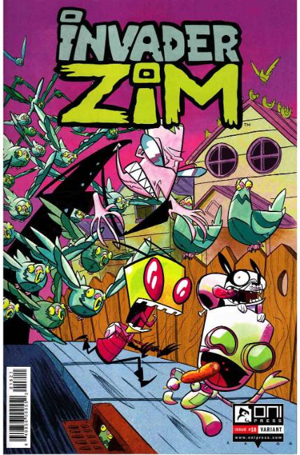 Invader Zim #18 Conley Variant Cover [Oni Press Comic] THUMBNAIL