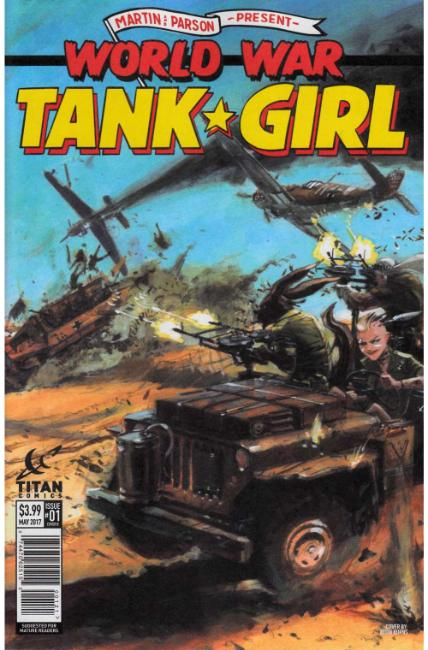 Tank Girl World War Tank Girl #1 Cover B [Titan Comic] LARGE