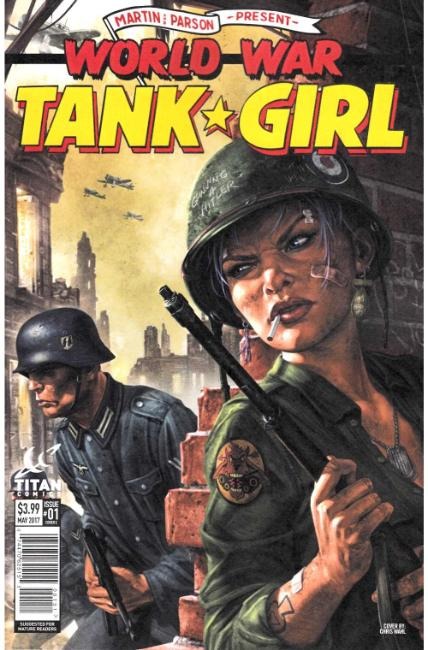 Tank Girl World War Tank Girl #1 Cover E [Titan Comic] LARGE