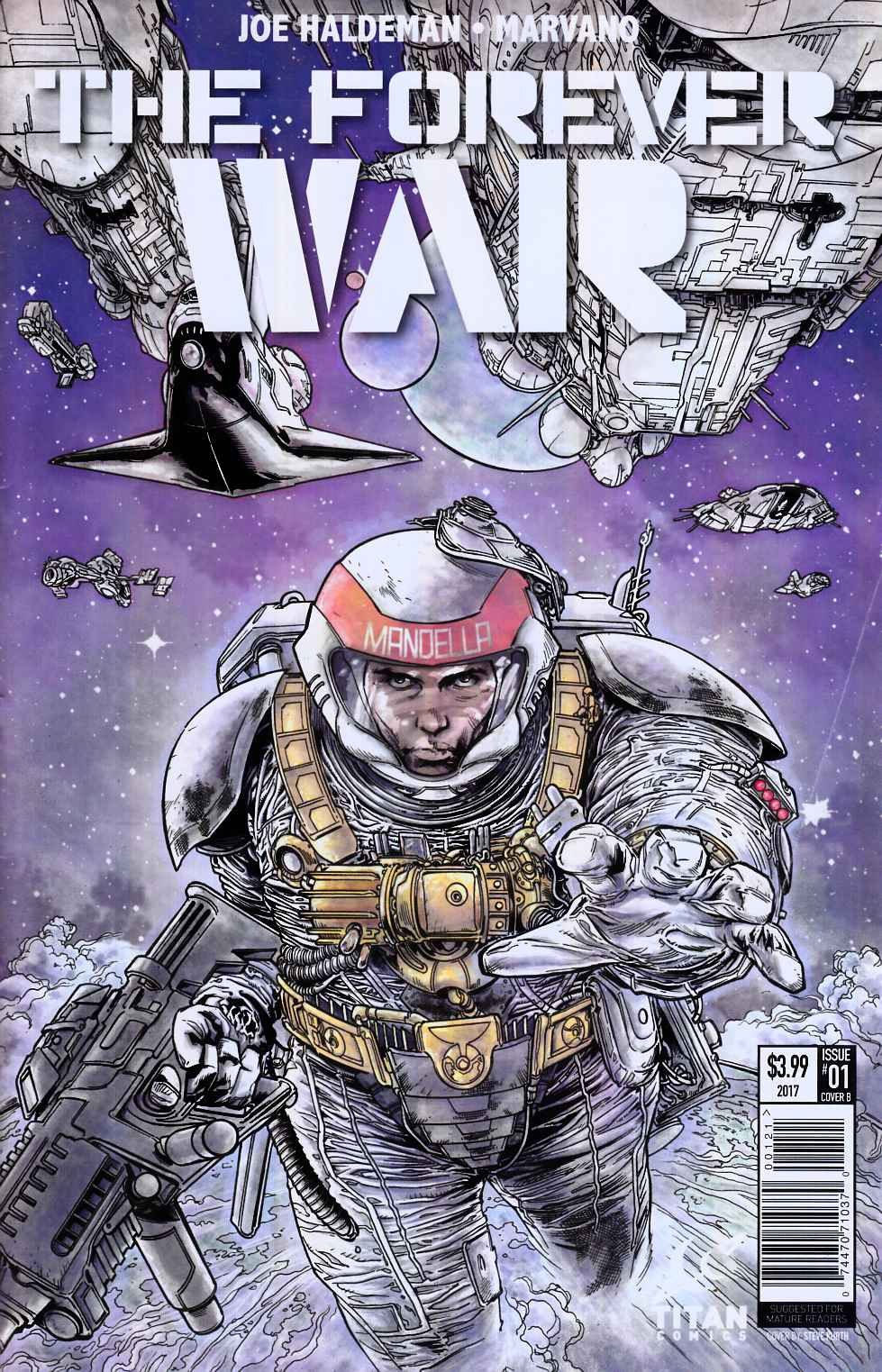 Forever War #1 Cover B [Titan Comic] THUMBNAIL