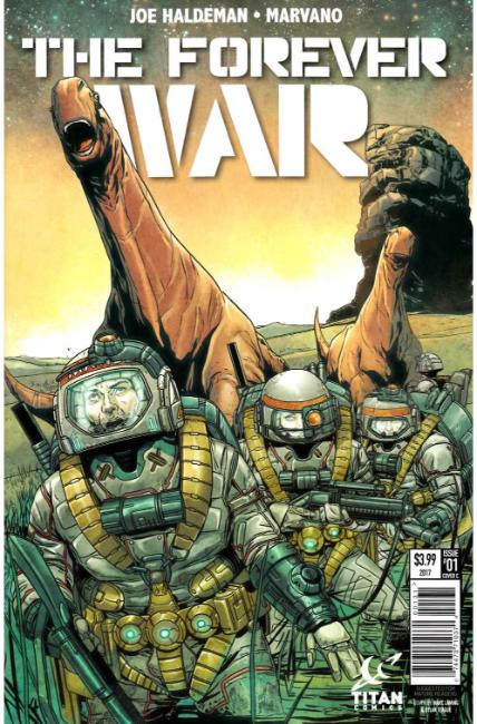 Forever War #1 Cover C [Titan Comic] THUMBNAIL
