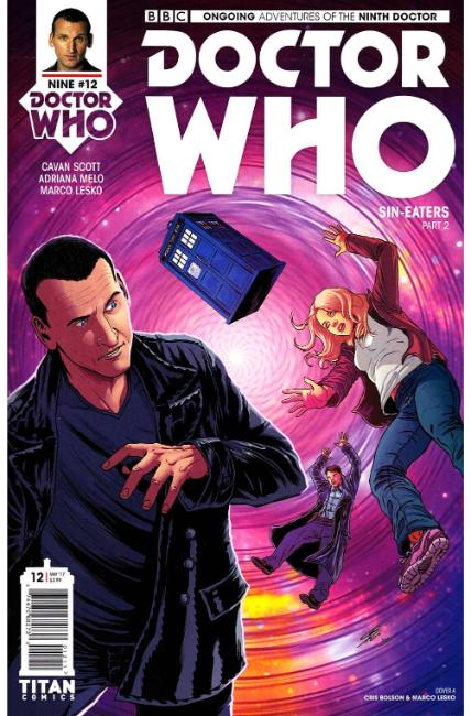 Doctor Who 9th Doctor #12 Cover A [Titan Comic] THUMBNAIL