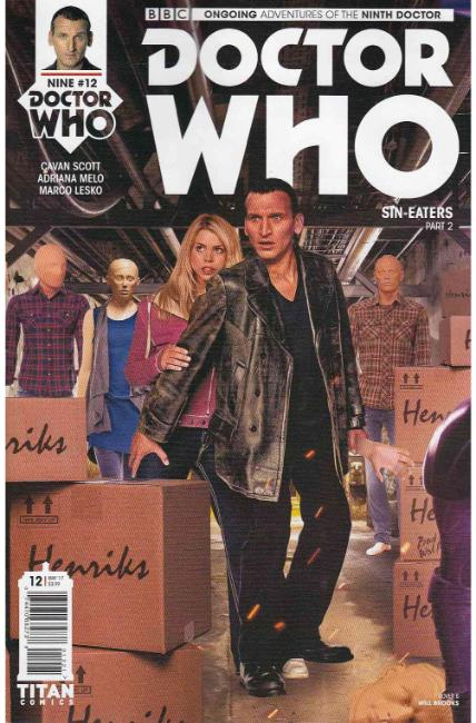 Doctor Who 9th Doctor #12 Cover B [Titan Comic] THUMBNAIL